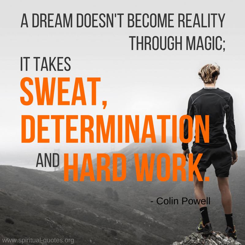 determination-very essential
